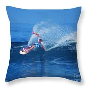 Pro Surfer Jamie O Brien #1 Throw Pillow