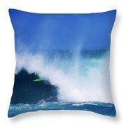 Pro Surfer Keanu Asing-1 Throw Pillow