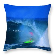 Pro Surfer Keanu Asing-3 Throw Pillow