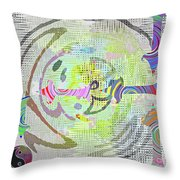 Process Throw Pillow by Gwyn Newcombe