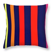 Procession No. 21 Throw Pillow
