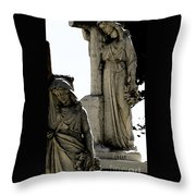 Procession Of Faith Throw Pillow