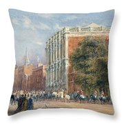 procession with Queen Victoria Throw Pillow