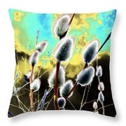 Proclamation Of Spring Throw Pillow