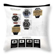 Professionally Ebay Mobile Template Design Throw Pillow