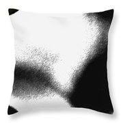 Profiles Throw Pillow
