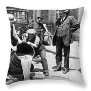 Prohibition, C1921 Throw Pillow