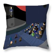 Project 2035 Throw Pillow