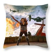 Project Alice Throw Pillow