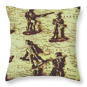 Project For The New American Century Throw Pillow