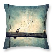 Project Morning Throw Pillow