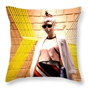 Project Phd Throw Pillow