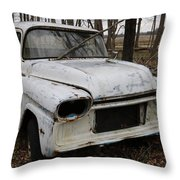 Project Stalled Throw Pillow