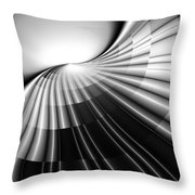 Projected Outcome Throw Pillow