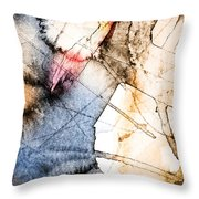 Projection 1 Throw Pillow