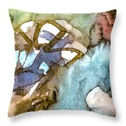 Projection 6 Throw Pillow