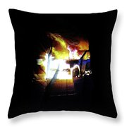 Projection - Body 3 Throw Pillow