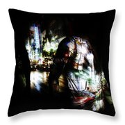 Projection - Body 2 Throw Pillow