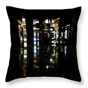 Projection - City 1 Throw Pillow