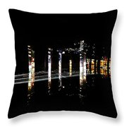 Projection - City 5 Throw Pillow
