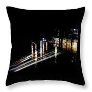 Projection - City 6 Throw Pillow