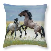 Prolonged Fight 5 Throw Pillow