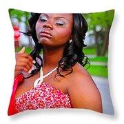 Prom Night Throw Pillow