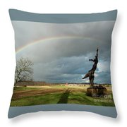 Promise To Gettysburg Throw Pillow