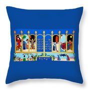 Promised Land Throw Pillow