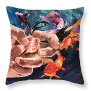 Propagate Throw Pillow