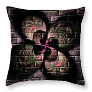 Propel Into The Future Throw Pillow