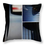 Propeller Collage  Throw Pillow