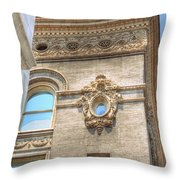 Propes Hall Throw Pillow