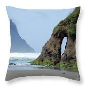 Proposal Rock - Keyhole Throw Pillow
