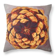 Protected Throw Pillow by Erin Fickert-Rowland