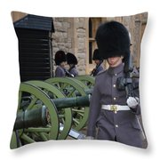 Protecting The Tower Of London Throw Pillow