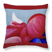Protection Detail Throw Pillow