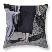 Protective Hand Throw Pillow