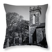 Protestant Church Macroom Ireland Throw Pillow