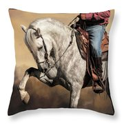Proud And Powerful Throw Pillow