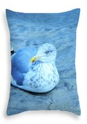 Proud Bird Throw Pillow