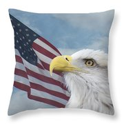 Proud Throw Pillow