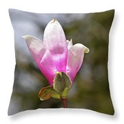 Proud Magnolia Throw Pillow