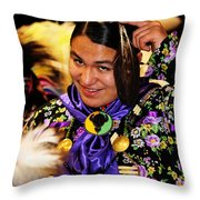 Proud Native Son Throw Pillow