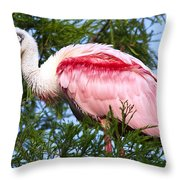 Proud Papa Throw Pillow by Kenneth Albin