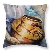 Proud Potter Throw Pillow