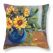 Proud To Be Here Throw Pillow