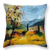 Provence 45 Throw Pillow by Pol Ledent
