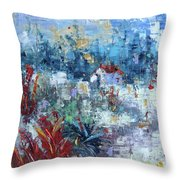 Provence South Of France Throw Pillow