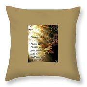 Proverbs115 Throw Pillow